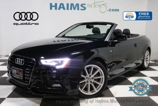 2017 Audi A5 Sport Cabriolet Automatic For In Hollywood Fl