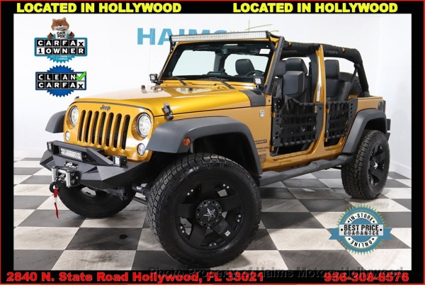 2014 Jeep Wrangler in Hollywood, FL