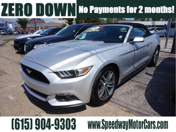 Used 2016 Ford Mustang For Sale In Clarksville, TN