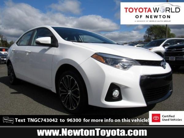2016 Toyota Corolla in Newton, NJ