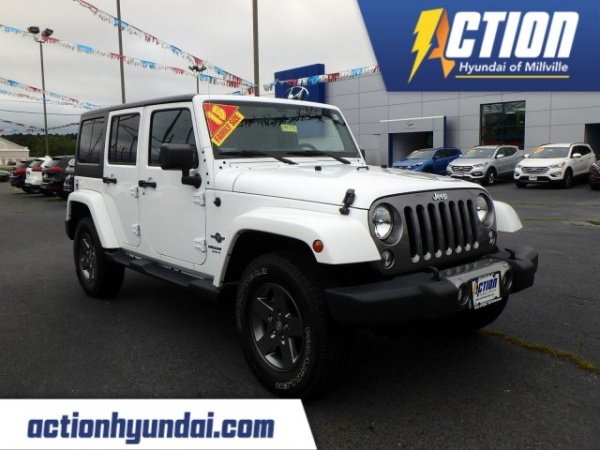 2015 Jeep Wrangler in Millville, NJ