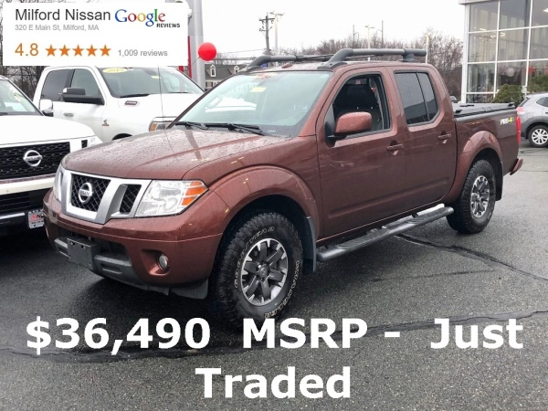 2016 Nissan Frontier in Milford, MA