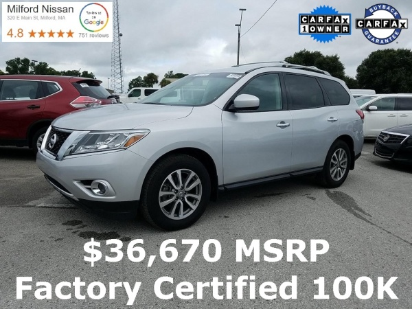 2016 Nissan Pathfinder in Milford, MA