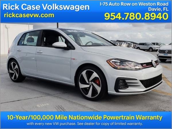 2019 Volkswagen GTI SE
