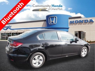 Perfect Used 2015 Honda Civic LX Sedan CVT For Sale In Orland Park, IL