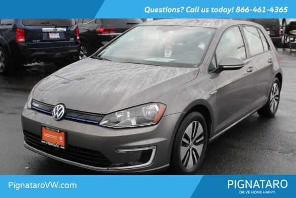 2016 Volkswagen e-Golf in Everett, WA