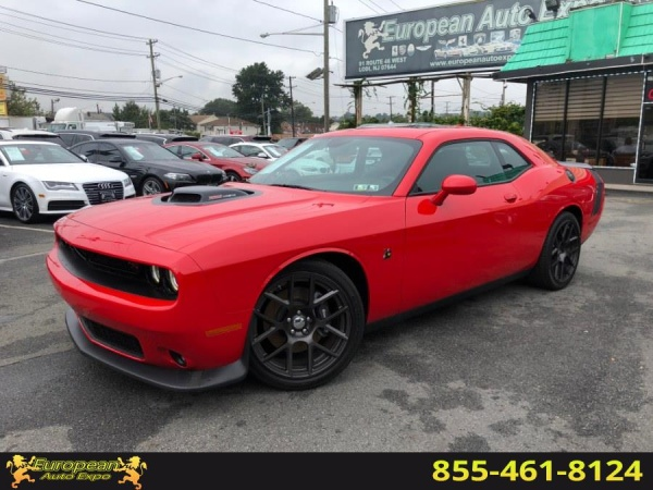 2016 Dodge Challenger 392 Hemi Scat Pack Shaker Manual For Sale In