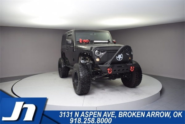 2017 Jeep Wrangler in Broken Arrow, OK