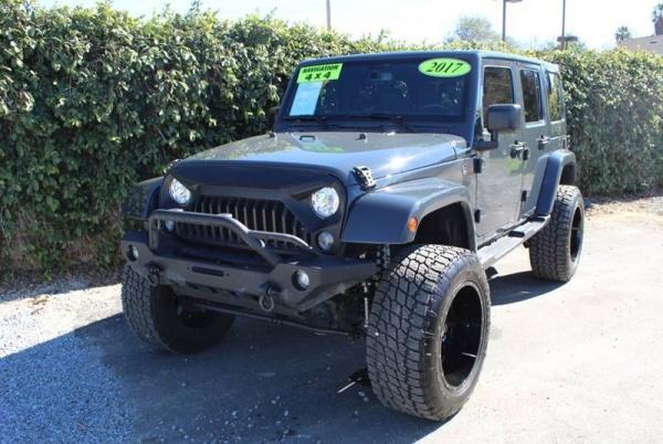 2017 Jeep Wrangler in Redlands, CA