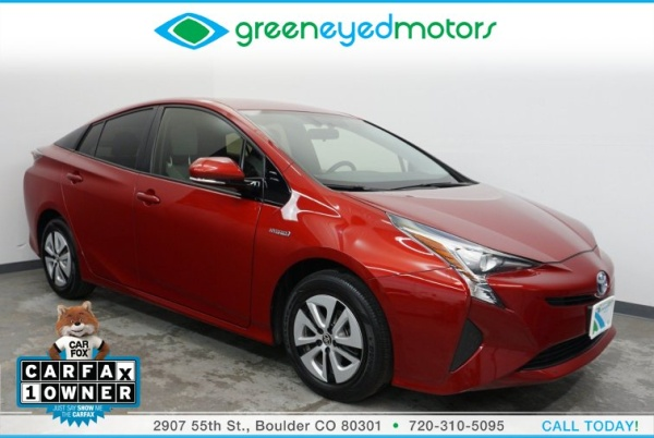 2016 Toyota Prius in Boulder, CO