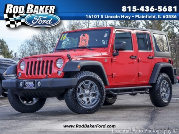 2016 Jeep Wrangler in Plainfield, IL