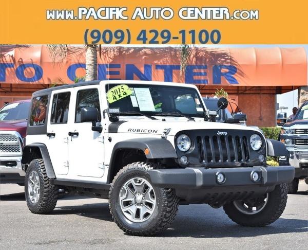2015 Jeep Wrangler in Fontana, CA