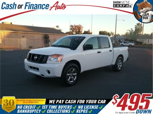 2012 Nissan Titan in BELLFLOWER, CA