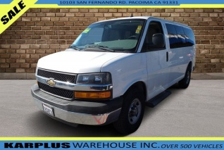 bc1a9f1d4d 2014 Chevrolet Express Passenger 2500 LT RWD SWB for Sale in Pacoima