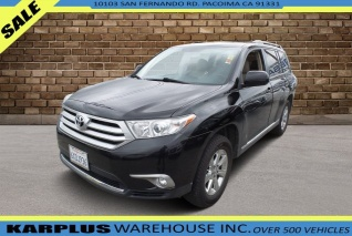 2012 Toyota Highlander For Sale >> Used Toyota Highlanders For Sale In Los Angeles Ca Truecar