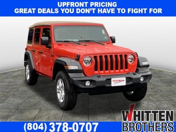 2020 Jeep Wrangler in Richmond, VA
