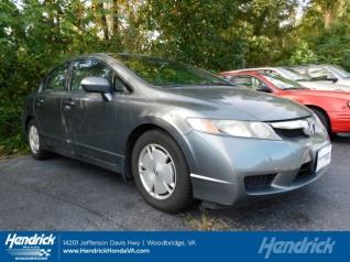 Used 2009 Honda Civic Hybrid Sedan For Sale In Woodbridge, VA