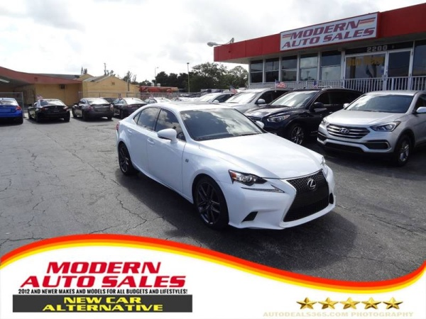 2015 Lexus IS in Hollywood, FL
