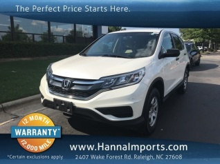 Used 2015 Honda CR V LX AWD For Sale In Raleigh, NC