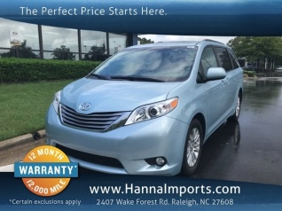 2017 Toyota Sienna Xle 8 Penger Fwd For In Raleigh Nc