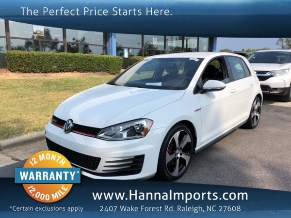 2017 Volkswagen Golf GTI in Raleigh, NC