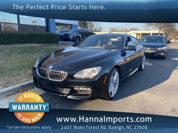 2013 BMW 6 Series in Raleigh, NC