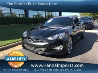 Used 2015 Hyundai Genesis Coupe 3.8 Ultimate With Black Seats Manual For  Sale In Raleigh,