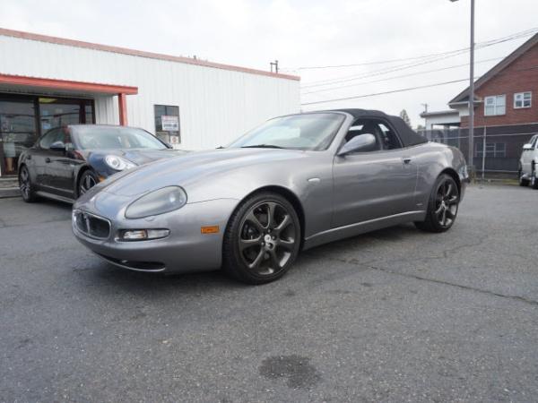 2003 Maserati Spyder Gt For Sale In Tacoma Wa Truecar