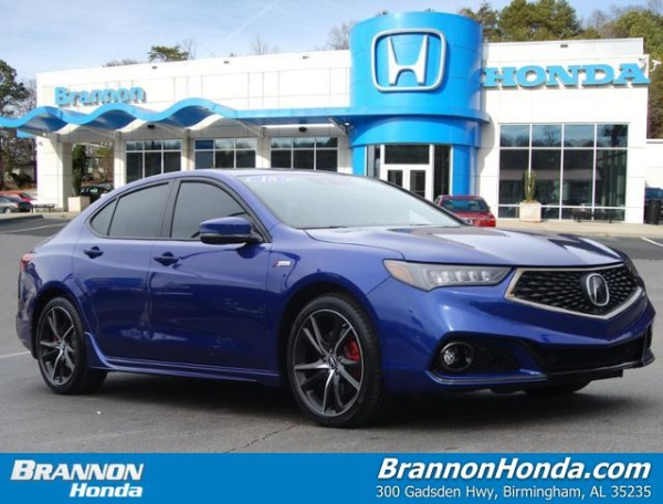 2018 Acura TLX 3.5L SH-AWD with A-Spec Red Package