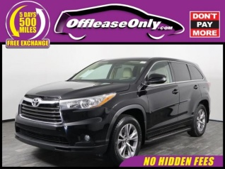 2016 Toyota Highlander Le Plus V6 Awd For In West Palm Beach Fl