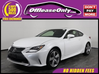 Used 2015 Lexus RC RC 350 AWD For Sale In West Palm Beach, FL