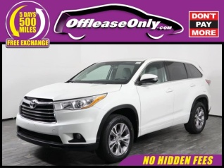 2017 Toyota Highlander Le Plus V6 Awd For In West Palm Beach Fl