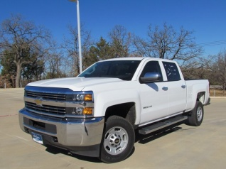 2016 Chevrolet Silverado 2500HD Work Truck Crew Cab Standard Box 2WD For Sale In Denton