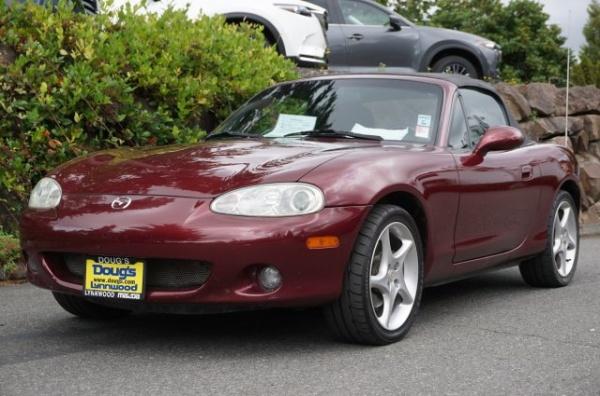 2003 Mazda Mx 5 Miata Cloth Automatic For In Edmonds