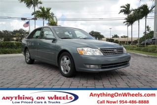 Used 2003 Toyota Avalon XLS With Bench Seat For Sale In Oakland Park, FL