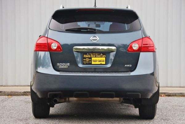 nissan rogue select 2.5l inline-4 gas
