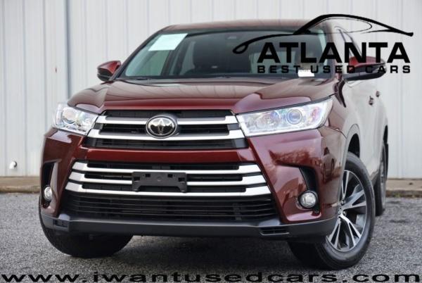 2019 Toyota Highlander in Norcross, GA