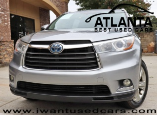 2017 Toyota Highlander Hybrid Limited Platinum Awd For In Norcross Ga