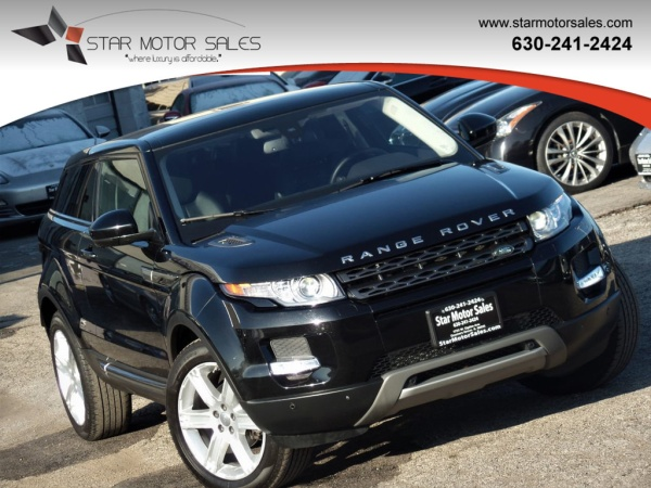 2015 Land Rover Range Rover Evoque Coupe Pure Plus