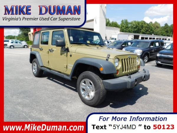 2013 Jeep Wrangler in Suffolk, VA