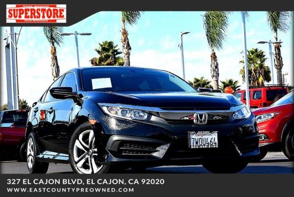 2017 Honda Civic in El Cajon, CA