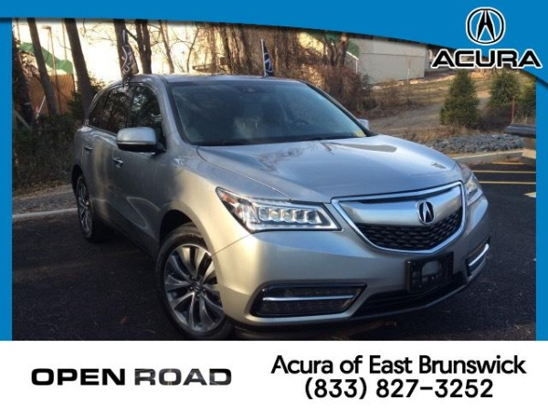 Acura East Brunswick >> 2016 Acura Mdx Sh Awd With Technology Package For Sale In East
