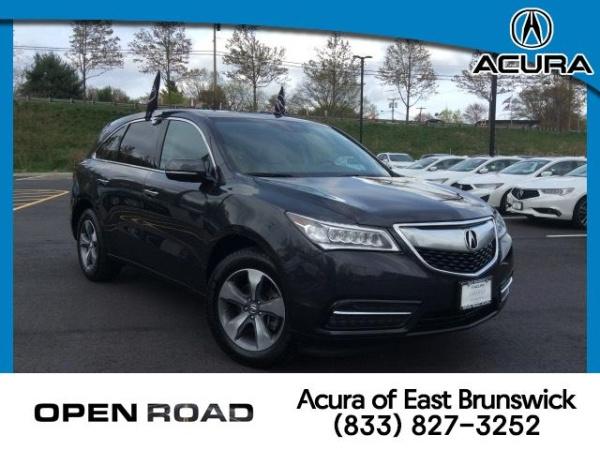 Acura East Brunswick >> 2016 Acura Mdx Sh Awd For Sale In East Brunswick Nj Truecar