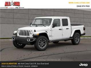 New Jeep Gladiator Overlands For Sale Truecar