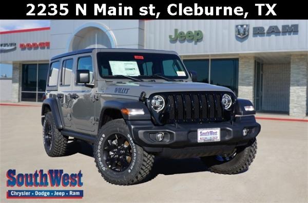 2020 Jeep Wrangler in Cleburne, TX