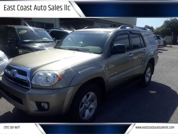 Toyota Virginia Beach >> 2006 Toyota 4runner Sr5 V6 4wd Automatic For Sale In
