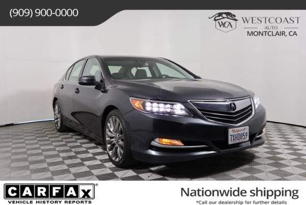 2017 Acura RLX FWD with Technology Package