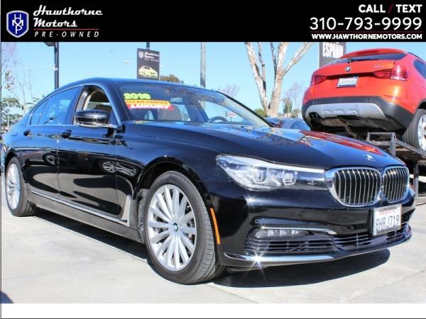 2016 BMW 7 Series in Lawndale, CA