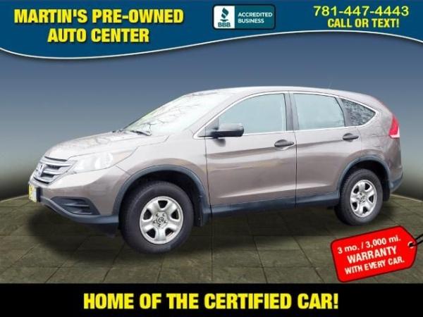 2014 Honda CR-V in Whitman, MA