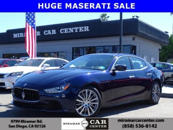 2015 Maserati Ghibli Sedan Rwd For Sale In San Diego Ca